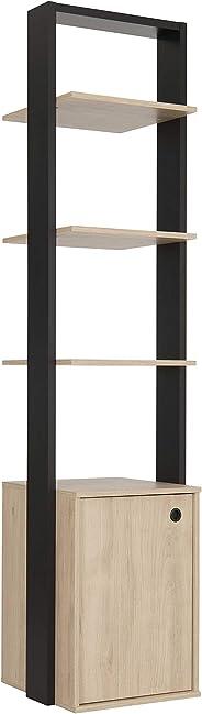 GAMI Duplex Open Wardrobe, Beige, H200 x W48 x D45 cm, 1G72630