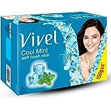 Vivel Cool Mint, Soft Fresh Skin Soap, 150g [Pack of 4]