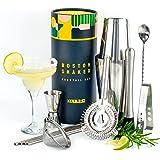 Shaker Boston Cocktail Inox Pro, Boston Shaker Professionnel Kit pour Faire des Cocktails et Coffret Personnalisable, Cadeaux