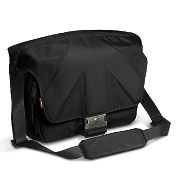 Manfrotto stile unica v messenger bag   black: amazon.co.uk ...
