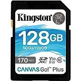Kingston SDG3/128GB Tarjeta de memoria SD ( 128GB SDXC Canvas Go Plus 170R C10 UHS-I U3 V30 )