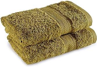 Trident Classic 525 GSM 100% Cotton Super Soft Hand Towel Set of 2