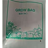 BIO BLOOMS UV Stabilized Poly Grow Bags (20x20x35cm) - Pack of 20 Pieces