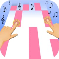 Pink Piano Tile - Don't Tap White- Play Free Music Games
