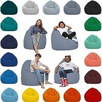 HomeIdeal - Sitzsack XXL Bodenkissen für Erwachsene & Kinder - Geeignet für Gaming oder Entspannen - Indoor wie Outdoor…