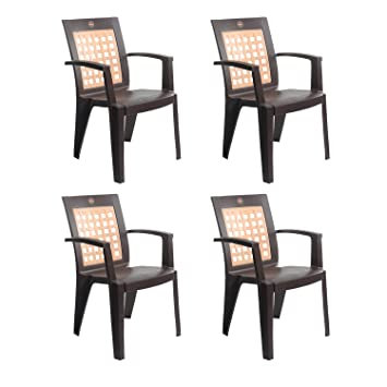 Cello Impact Set Of 4 Chairs (Ice Brown)