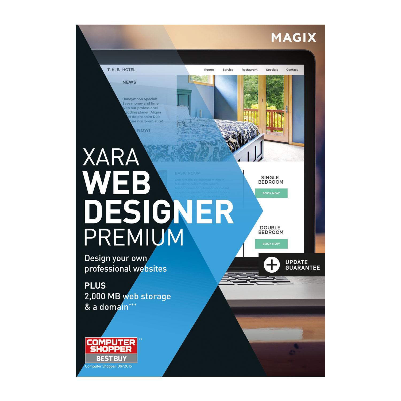 MAGIX Web Designer Premium – 15 – La création simple de sites web  professionnels [Téléchargement