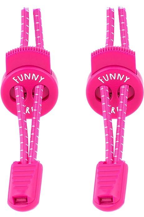 LOCK LACES - Cordones elásticos sin nudo, para zapatillas - 1 par ...