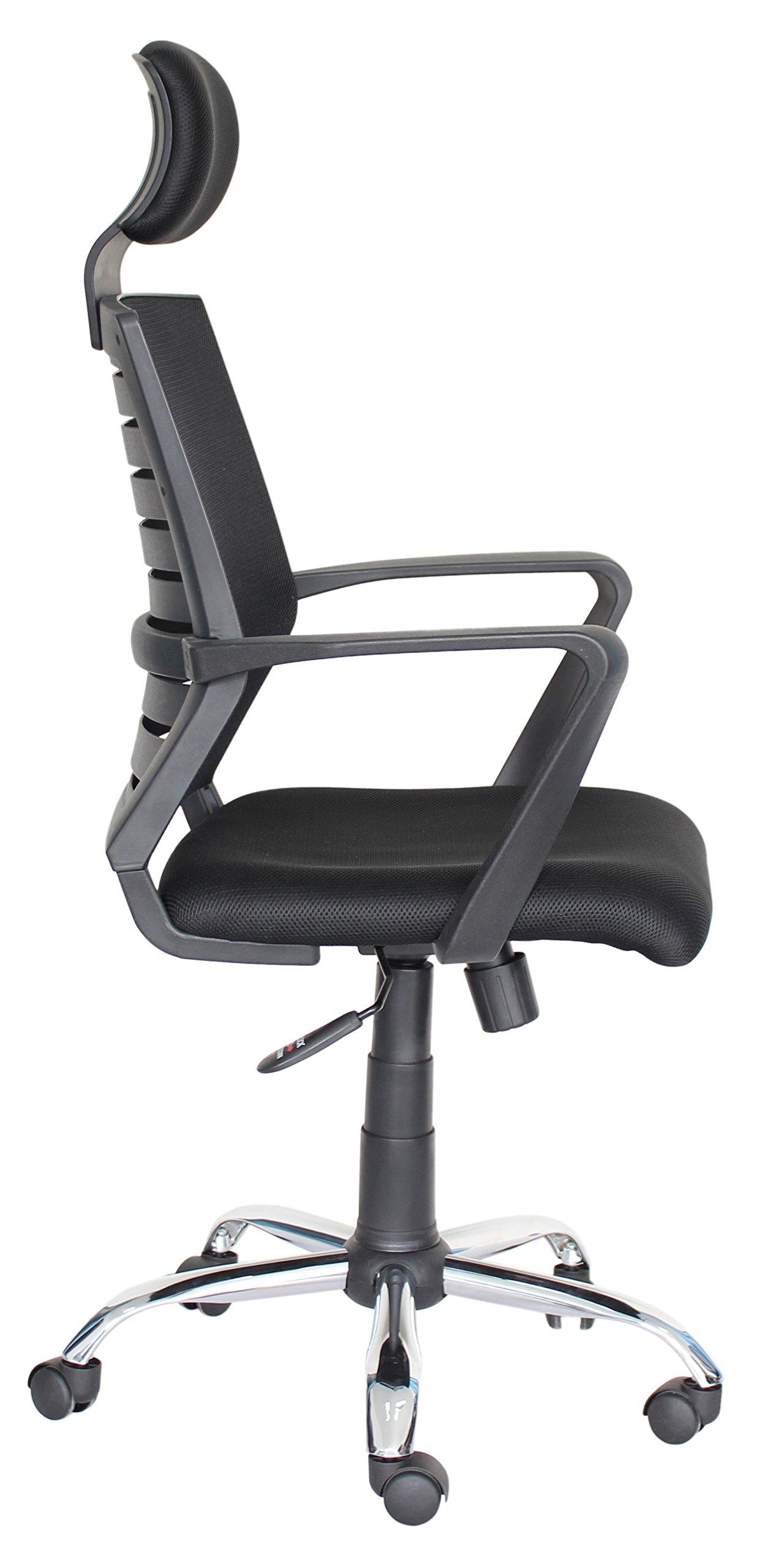 Top Power – Silla de Oficina con Respaldo Alto, diseño ergonómico, Altura Ajustable