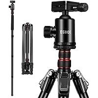 Kamera Stativ, ESDDI 200 cm Aluminiumlegierung Stativ mit 360° Panorama Kugelkopf und Einbeinstativ, 1/4…
