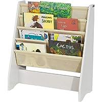 SoBuy® FRG225-W Bibliothèque Étagère à Livres pour Enfants Porte-revues 4 Compartiments