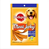 Pedigree Dog Treats Meat Jerky Stix, Barbeque Chicken, 80 g Pouch