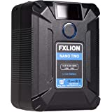 SONGING FXLION Nano Two 98WH Tiny V-Mount/V-Lock Battery with Type-C, D-tap, USB A, Micro USB for Cameras, Camcorders,Large L