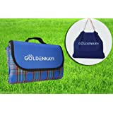 GOLDENKAYI Picknickdecke Camping Matte Campingmatte Picknickdecken Wasserdicht Sand Beweis Extra Großen 200x200cm für Festiva