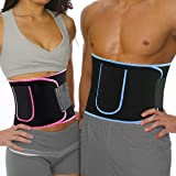 SR SUREADY Sweat Slim Belt for Tummy Trimming Exercise with Mobile Pouch for Both Men and Women