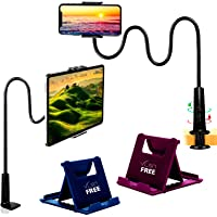 VLSA® ( Free 2 Mobile Stand ) Mobile Phone Holder Ipad & Tablet Holder with 360 Degree Rotation Online Classes Table Bed…