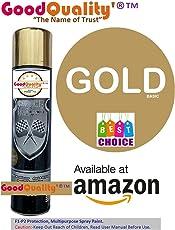 Good Quality' Multipurpose Aerosol Spray Paint, 300ml (Gold)