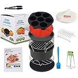 Sinbide Accessoires pour friteuse à air chaud - Ensemble d'accessoires pour friteuse universelle 12 pièces Airfryer - 12 pièc