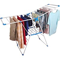 CLASSY 'N' COZY Cloth Drying Stand Folding and Collapsible Indoor and Outdoors Clothes Drying Rack (4WAY)