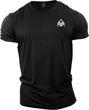 GYMTIER Gym T-Shirt | Mens Bodybuilding Training Top Clothing Plain Branded