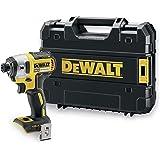 DeWalt DCF887NT Accu-slagschroevendraaier (18 volt, 205 Nm koppel, 1/4 inch binnenzeskant-opname, borstelloos, LED-diodenring