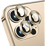Deyooxi [3-pack] kameralinsskydd för iPhone 12 Pro, guld