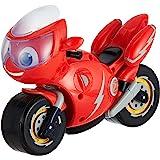 Ricky Zoom- Tomy Lumières Ricky Grande Moto Jouet avec 8 Sons Et Phrases-Figures d'action pour Les Enfants-pour Les Garçons E