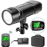 Neewer VISION2 200Ws 2,4G TTL Flash Estroboscópico Compatible con Cámaras DSLR Canon 1/8000 HSS Monolight Bolsillo Disparador