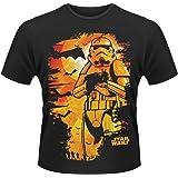 Plastic Head Star Wars Halloween Stormtrooper Camiseta para Hombre