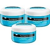 Neutrogena Hydro Boost Body Sorbet Creme - Erfrischende, ultra-leichte und samtige Body Creme mit Hyaluron - 3 x 200ml