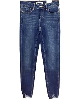 0be02a37b9ff ZARA Damen Skinny-Jeans zw Premium in True Blue 8246/041: Amazon.de ...