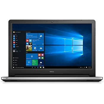 Dell Inspiron 5559 15.6-inch Laptop (Intel Core i5-6200U/8GB/1TB/Win 10/AMD Radeon 2GB DDR3), Silver with Pre-Loaded MS Office 2016 Home & Student