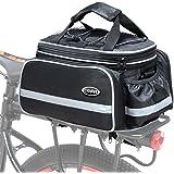 COFIT Borsa per Bagagliaio per Bici 25L / 68L, Borsa per Sedile Posteriore per Bicicletta di Grande capacità Come…