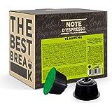 Note d'Espresso - Matcha Latte - Dosettes Compatibles avec les Machines NESCAFE* DOLCE GUSTO* - 48 caps