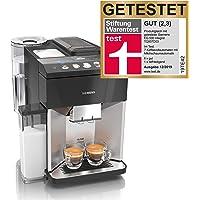 Siemens EQ.500 integral Kaffeevollautomat TQ507D03, einfache Bedienung, integrierter Milchbehälter, zwei Tassen…