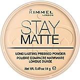 Rimmel London Stay Matte Pressed Powder, Transparent, 14g