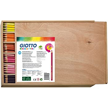 Betzold 55072 - Buntstifte-Set, 144 Dreikant-Stifte
