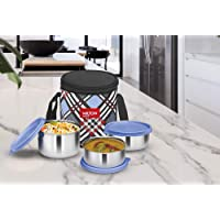 Milton Smart Meal Lunch Box, Set of 3, Blue