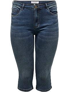 ONLY Carmakoma Caraugusta HW SK Long Shorts MBD Pantaloncini Donna