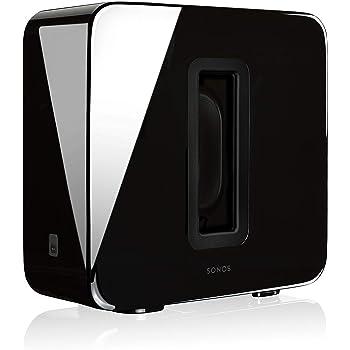 Sonos SUB Caisson de basse sans fil et subwoofer actif pour home cinema - Fonctionne  avec 52770a93506c