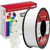 PLA Gloeidraad 1.75mm 3D Printen Materiaal Gloeidraad Voor 3D Printer en 3D-pen Maatnauwkeurigheid +/- 0,02 mm (1KG, A Wit)