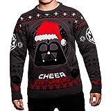 Pull de Noël en tricot Star Wars Dark Vador « I Find Your Lack of Cheer Disturbing »