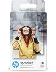 HP Zink Photo Paper (2 * 3 inch) - Pack of 20 - for HP Sprocket & Sprocket 2-in-1