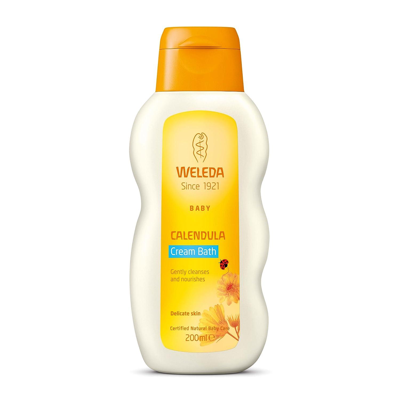 Weleda Baby Calendula Cream Bath 200ml: Amazon.co.uk: Beauty