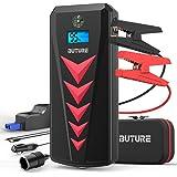 BuTure Booster Batterie, 2000A 22000mAh Portable Jump Starter, Démarrage de Voiture (Jusqu'à 8.0L Essence 8.0L Gazole…