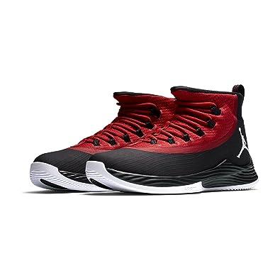 Jordan Men's 897998 001 Basketball Shoes Black Size: 6