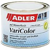 ADLER Varicolor 2-in-1 acryl gekleurde lak voor binnen en buiten - 375 ml RAL7016 antracietgrijs grijs - weerbestendige lak e