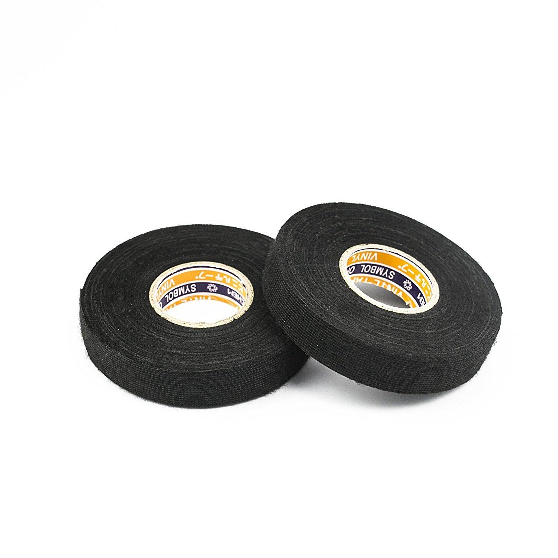 Fleece Wire Harness Fuzzy Tape : Hakacc black fuzzy fleece interior wire loom harness tape