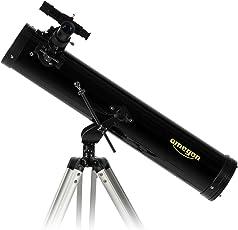 Telescope Omegon N 76/700az-1, Teleskop, Spiegel mit 76mm Öffnung und 700mm Brennweite