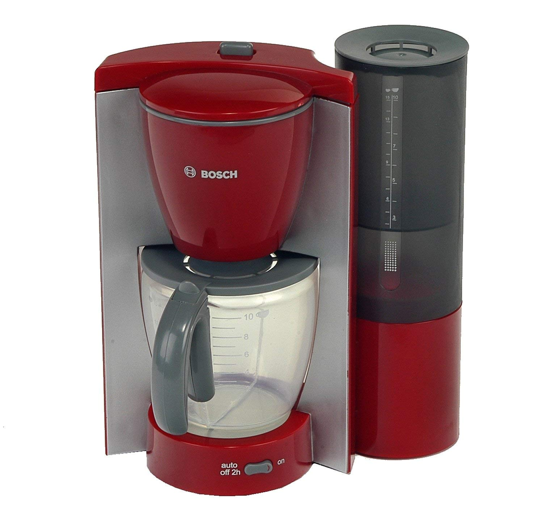 Theo-Klein-95770-Bosch-Kaffeemaschine-rotgrau-Spielzeug
